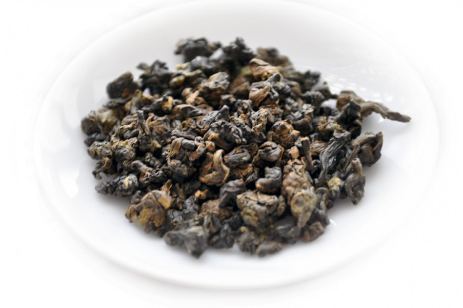 GABA Taiwanese Oolong Tea Dry Leaves