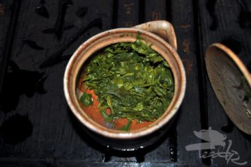 Shincha Leaves in Houchin