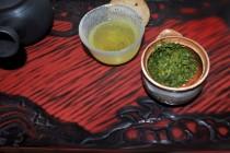 Cup and Japanese Hagi Ware Houchin