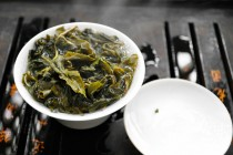 Fifth Steep Leaves in Gaiwan