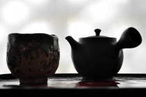 Kyusu Tea Pot Breawing