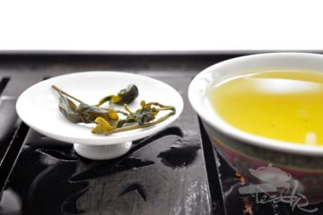 Leaves of Oolong Open
