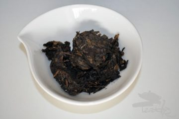 raw puerh pieces