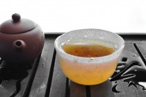 Oolong First Steep in a Cup