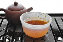3rd Steep Dark Tea Liquor