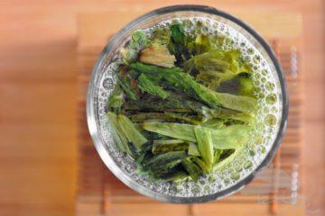 Tea Leaves in the Water