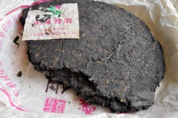 Top of Ripe Puer Cake