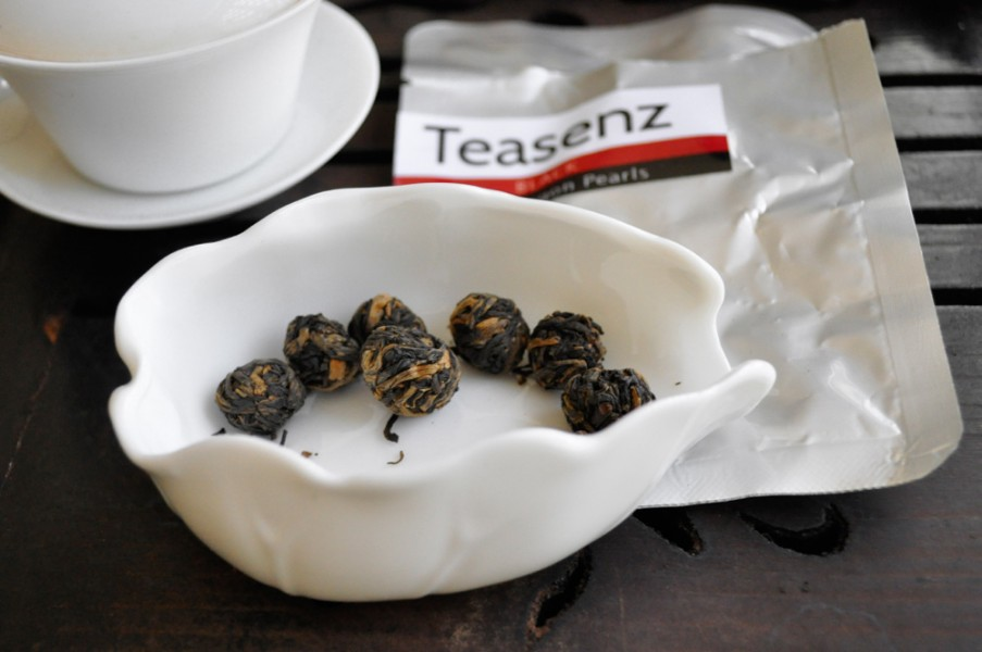 Teasenz Tester with Red Dragon Pearls