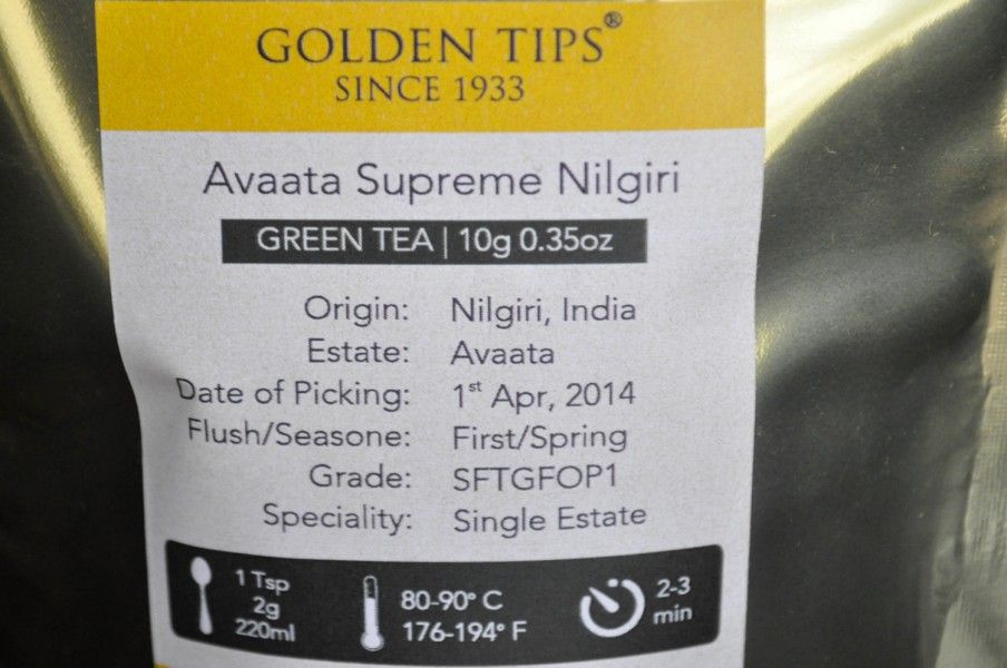 Golden Tips Label